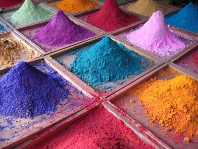 Photo WIKIPEDIA Indian_pigments