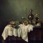 Huile sur toile Claesz Heda Nature morete, Still life, stilleven