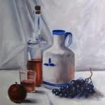 peinture à l'huile exercice sur la couleur
