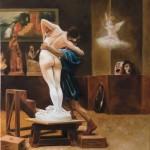 peinture à l'huile, copie de tableau