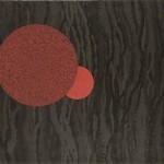 Stylo gel et gouache sur papier, 141 x 238 cm.