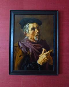 peinture à l'huile portrait de Jan Wouterzs