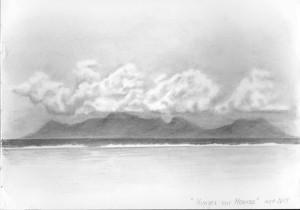 nuages sur Moorea
