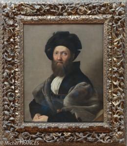 portrait d'une gentilhomme peint par Raphael