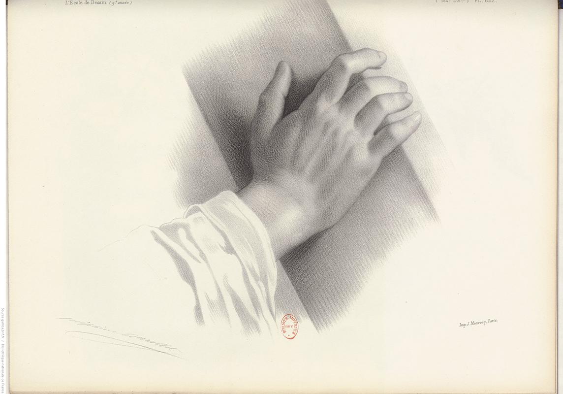 main, dessin