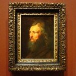 Rubens, portrait, esquisse