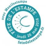 logo de la fête de l'estampe 2016