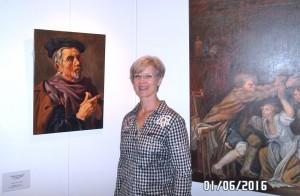 exposition des peintre copistes du Louvre woutersz
