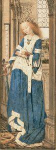 panneau du triptyque de Dresde de Van Eck