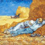 sieste campagne van Gogh