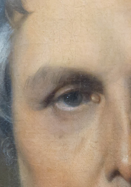 Oeil de Mr Bertin-Ingres