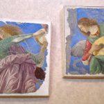 fragments de fresque du XVe s musiciens