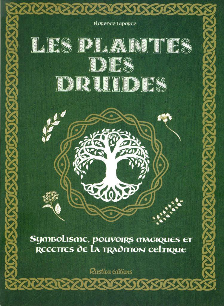 couverture livre sur les plantes des druides