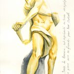 David de Bernini croquis aquarelle