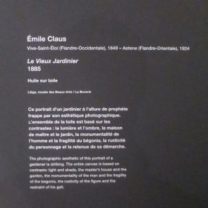 cartel de la peinture de Claus