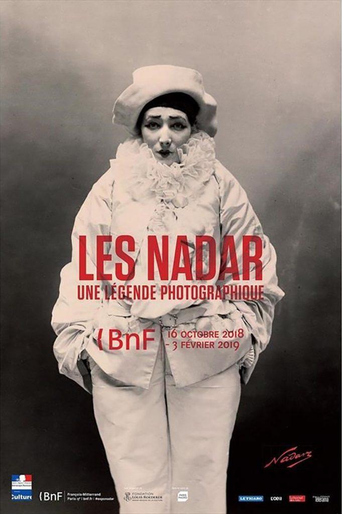 affiche photo de Nadar , pierrot