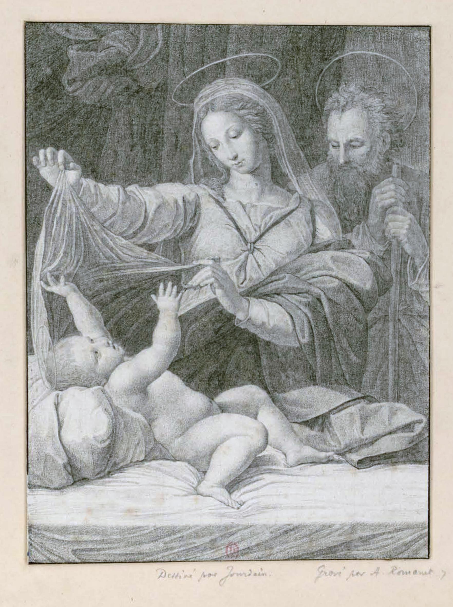 Raphael Dessin Ou Peinture