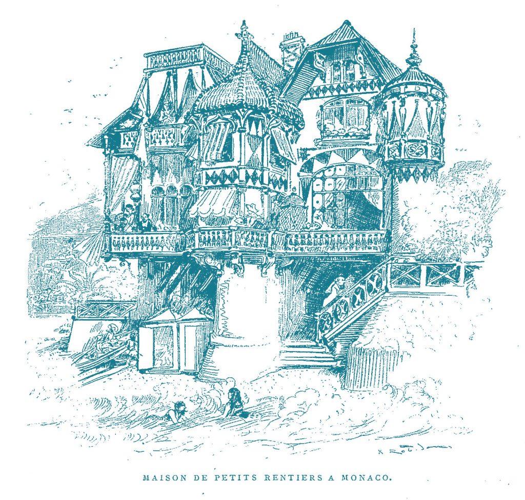 Maison de petits rentiers à Monaco