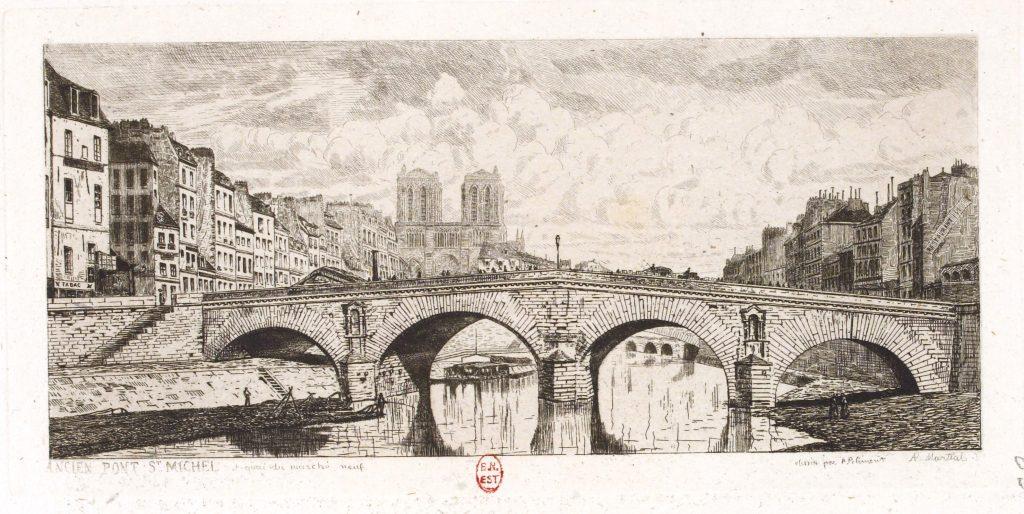 estampe du vieux Paris