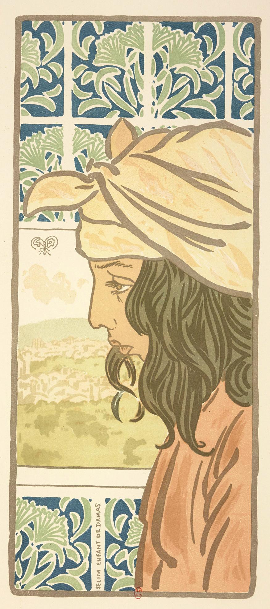 Selim, enfant de Damas,  estampe de George Auriol