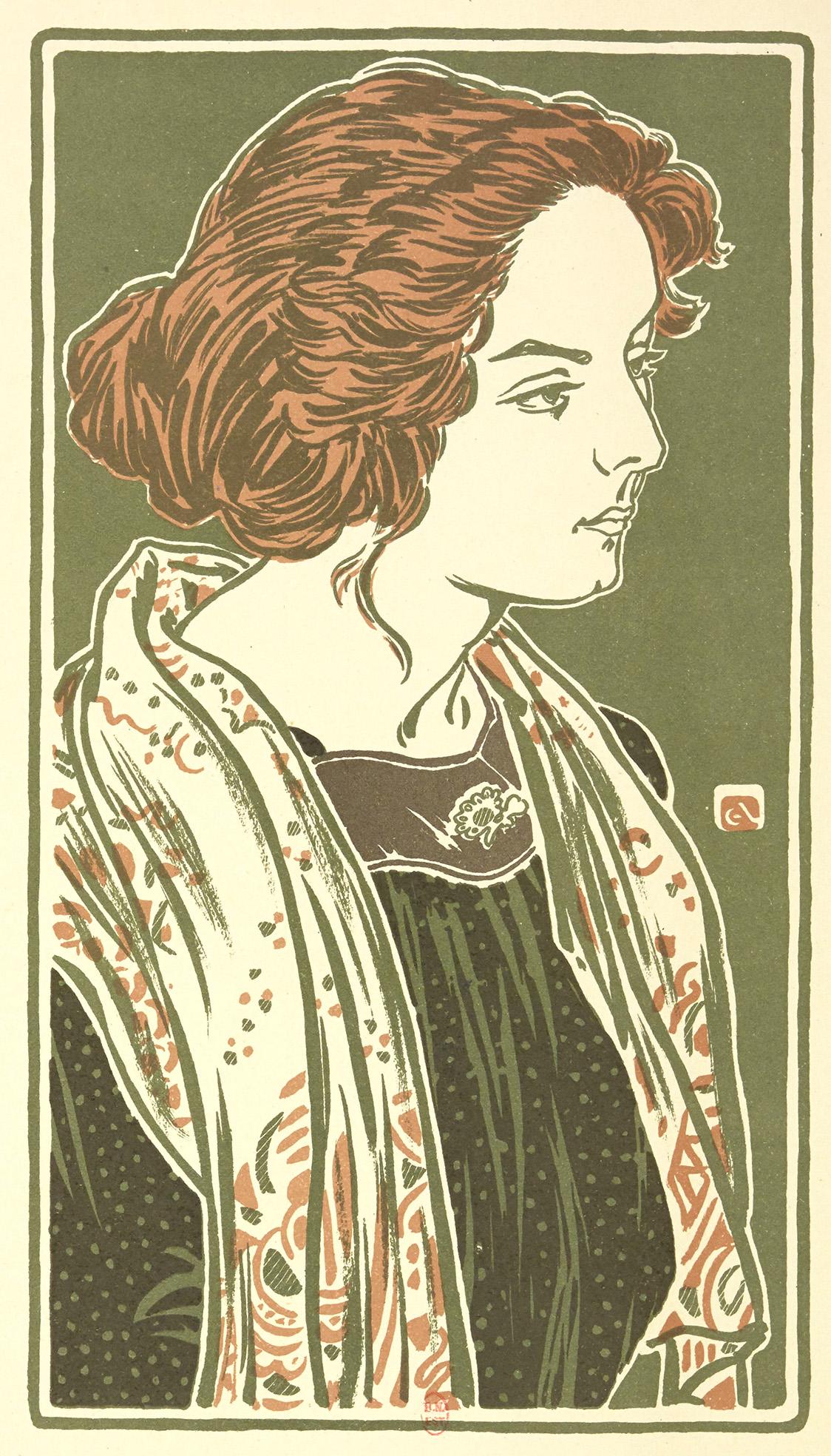Buste de jeune femme de George Auriol