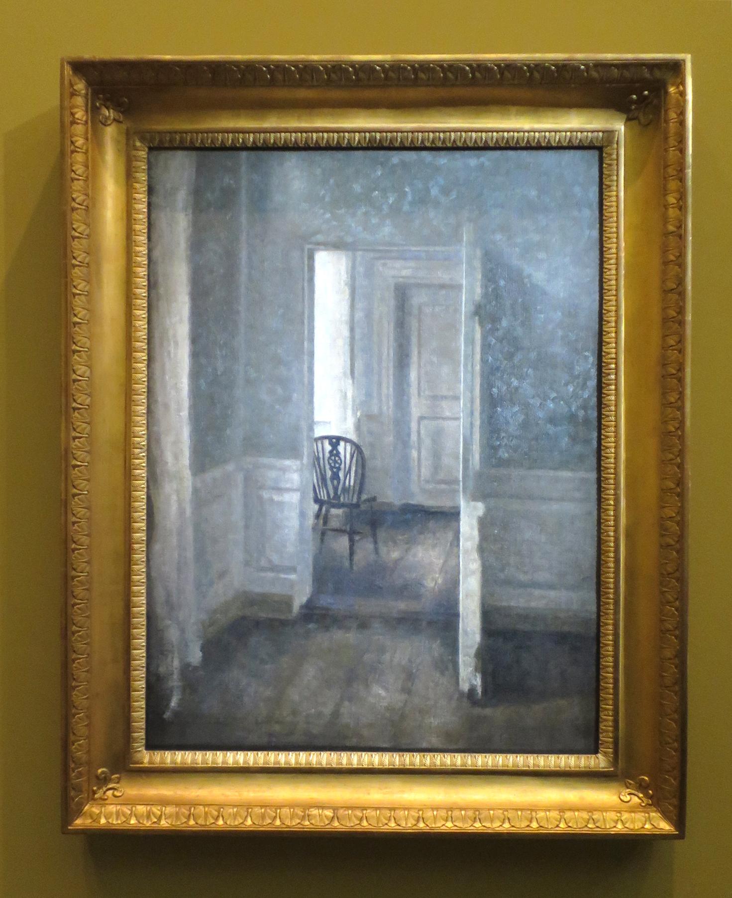 Intérieur avec une chaise