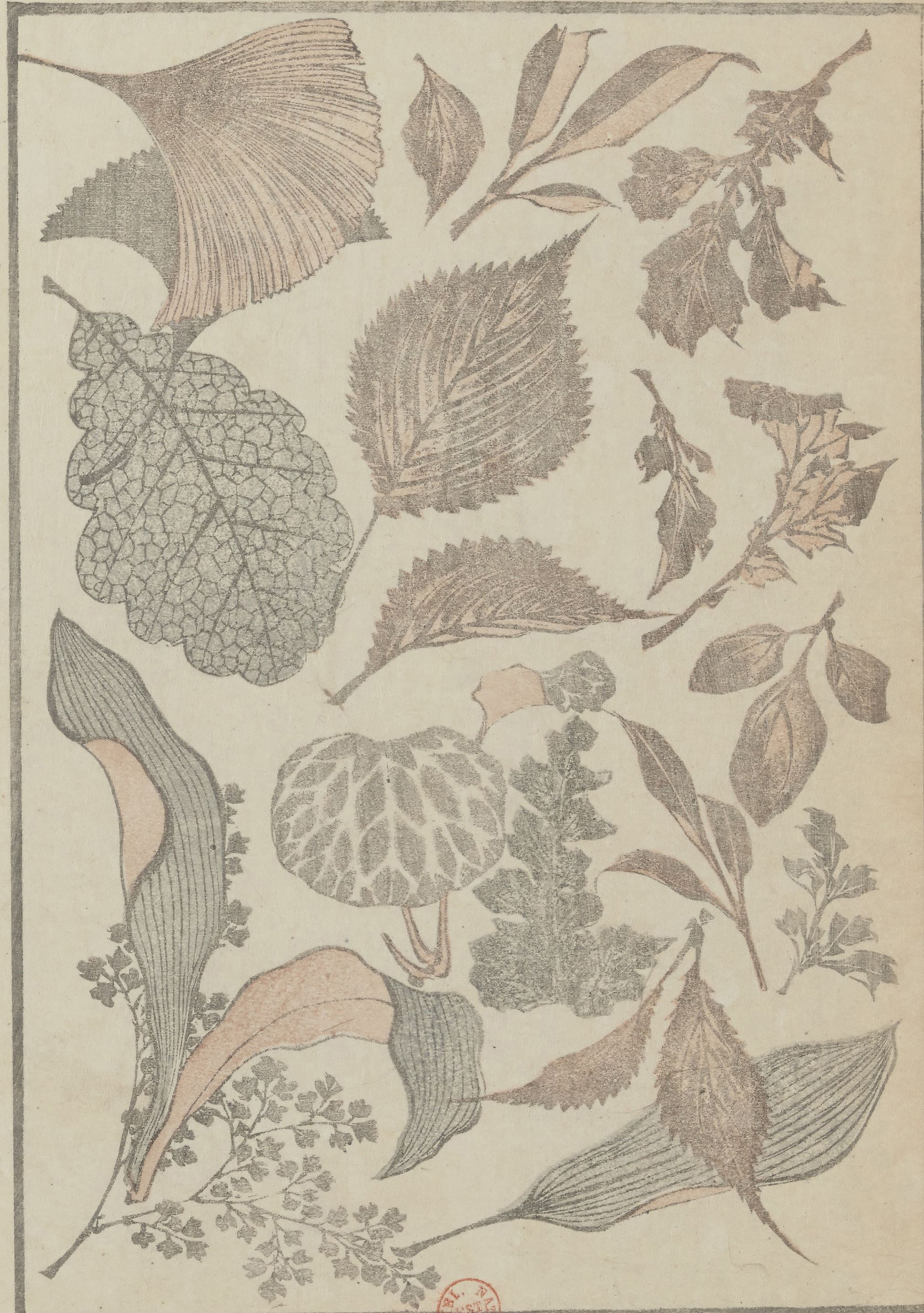 Feuilles -Vol3 du Livre manga de Hokusai