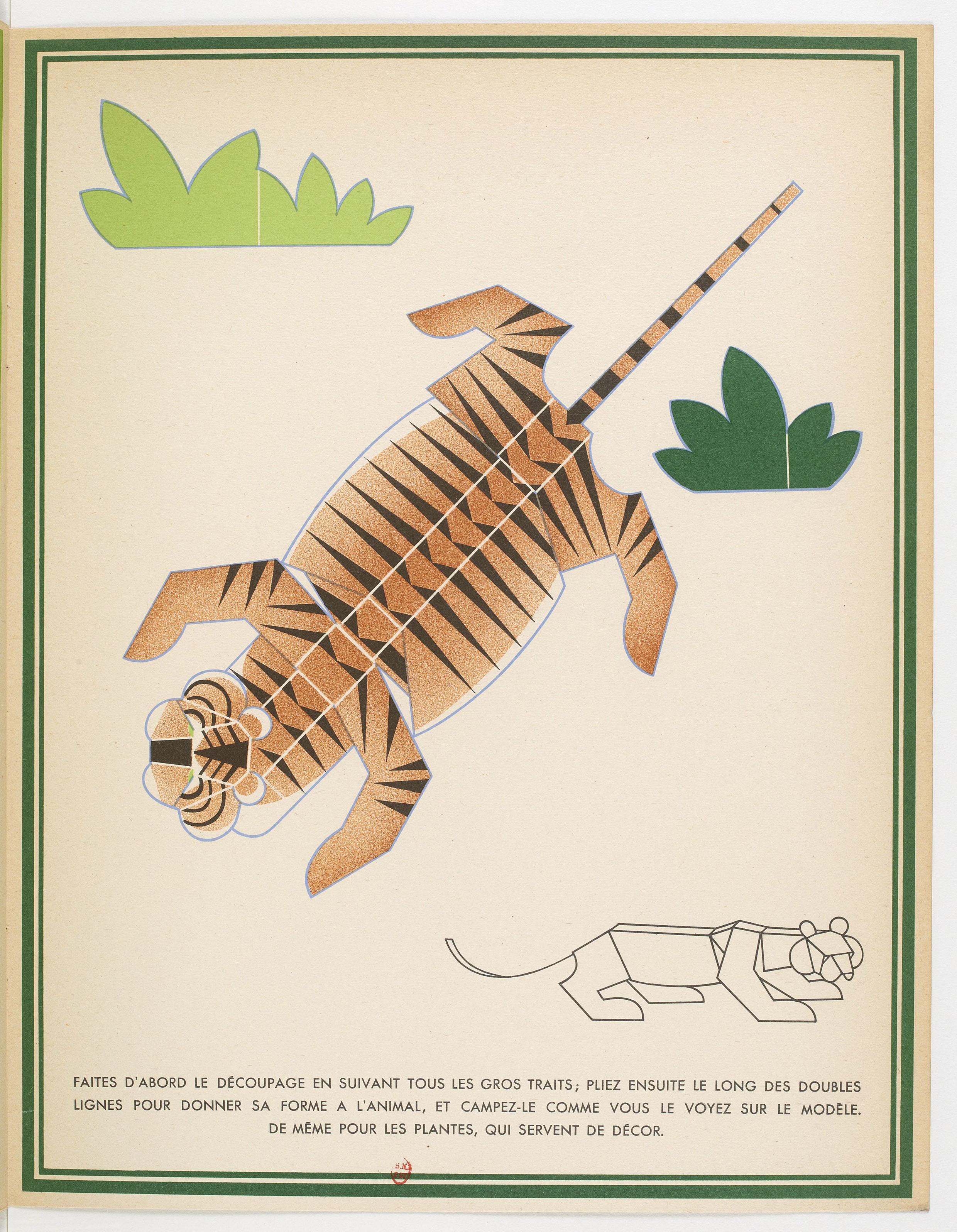 La Jungle chez moi : Le tigre à découper