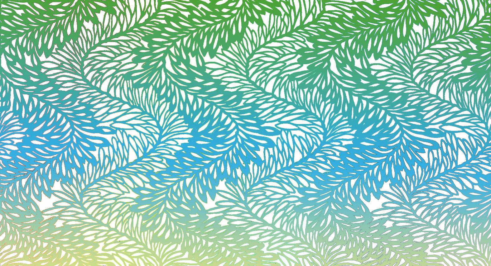 Motifs décoratifs tirés des pochoirs japonais de par Th. Lambert -Serpentines d'algues ; (Collection Maurice Dufrène