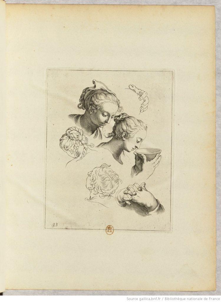 dessin de portrait de femmes