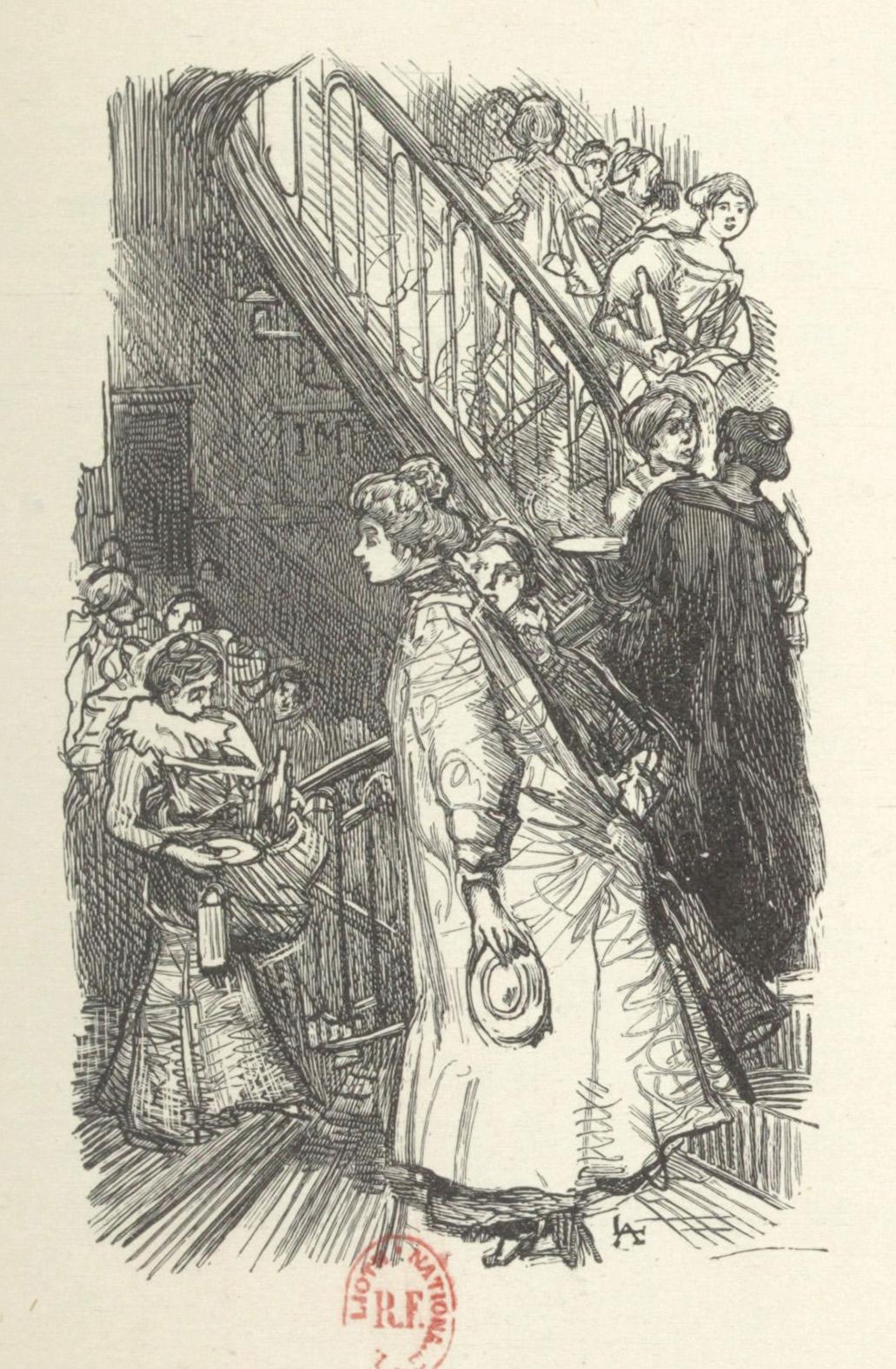 Auguste Lepère-gravure sur bois