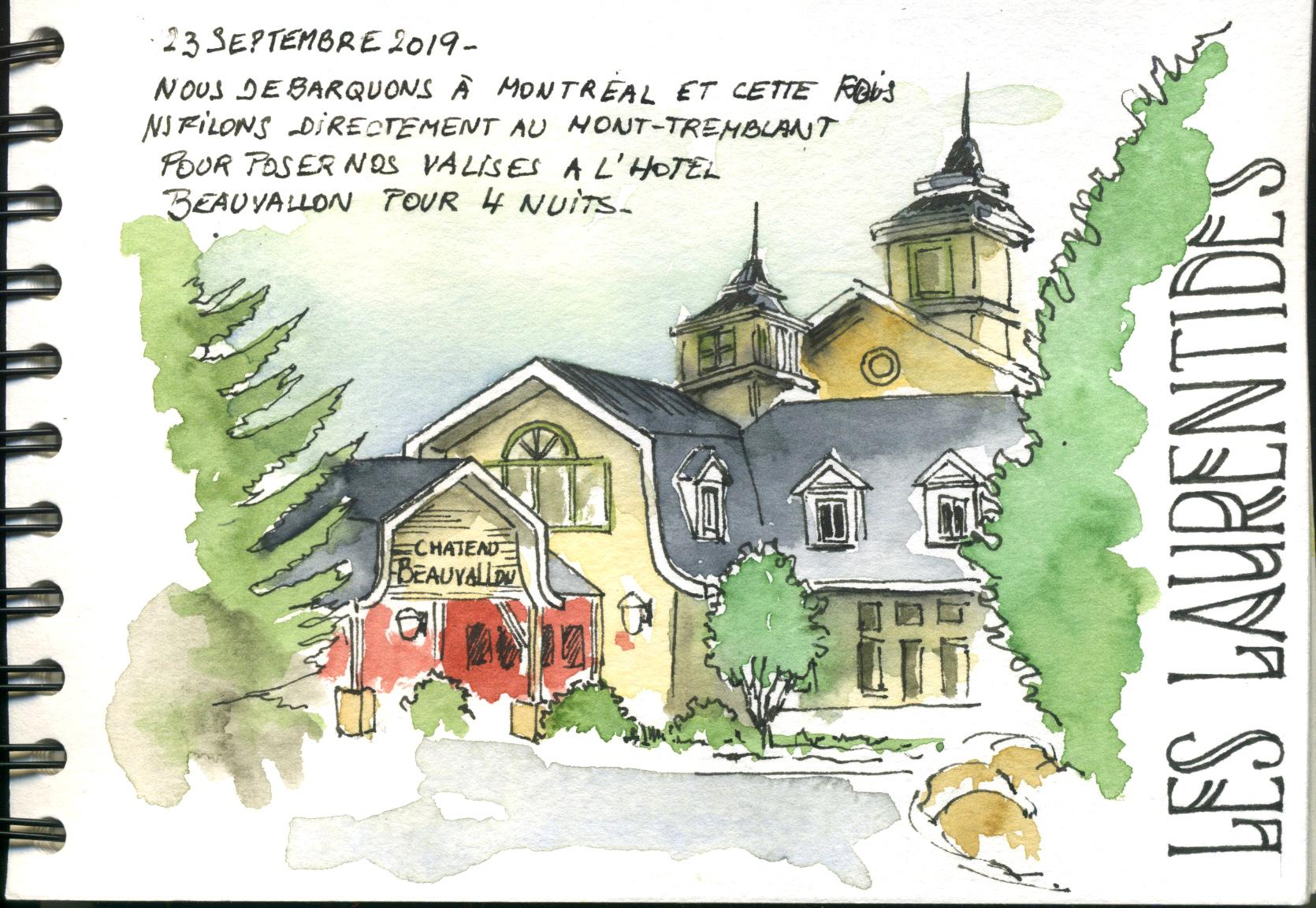 Hotel Beauvallon à Mont-Tremblant