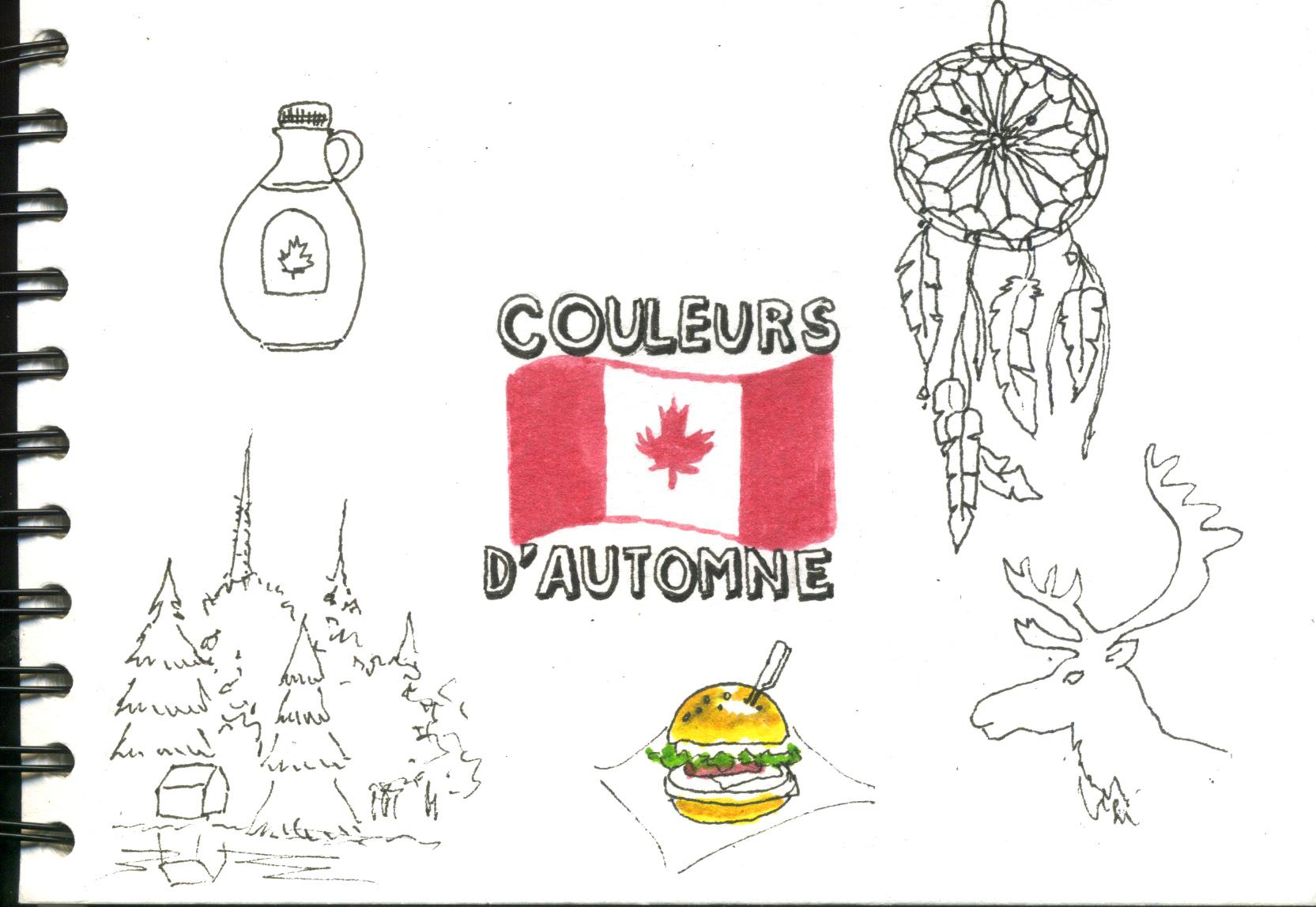 Carnet de Voyage Quebec 2019
