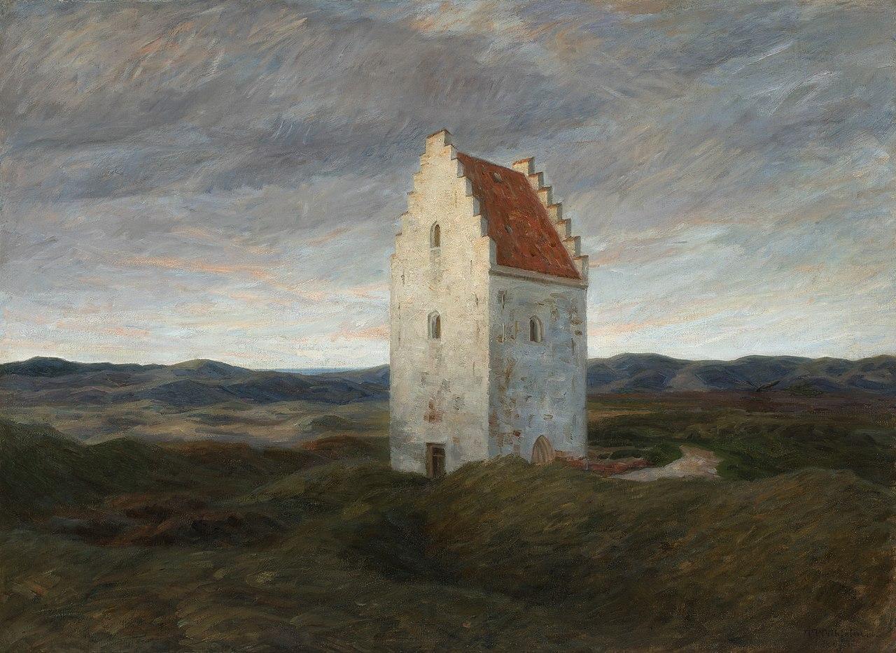 Vieille Eglise de Skagen de Johannes Wilhjelm, photo  Kirsten Bøjstrup.