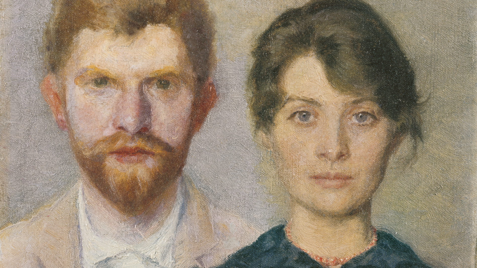 Double portrait of Marie and P.S. krøyer-Musee de Skagen