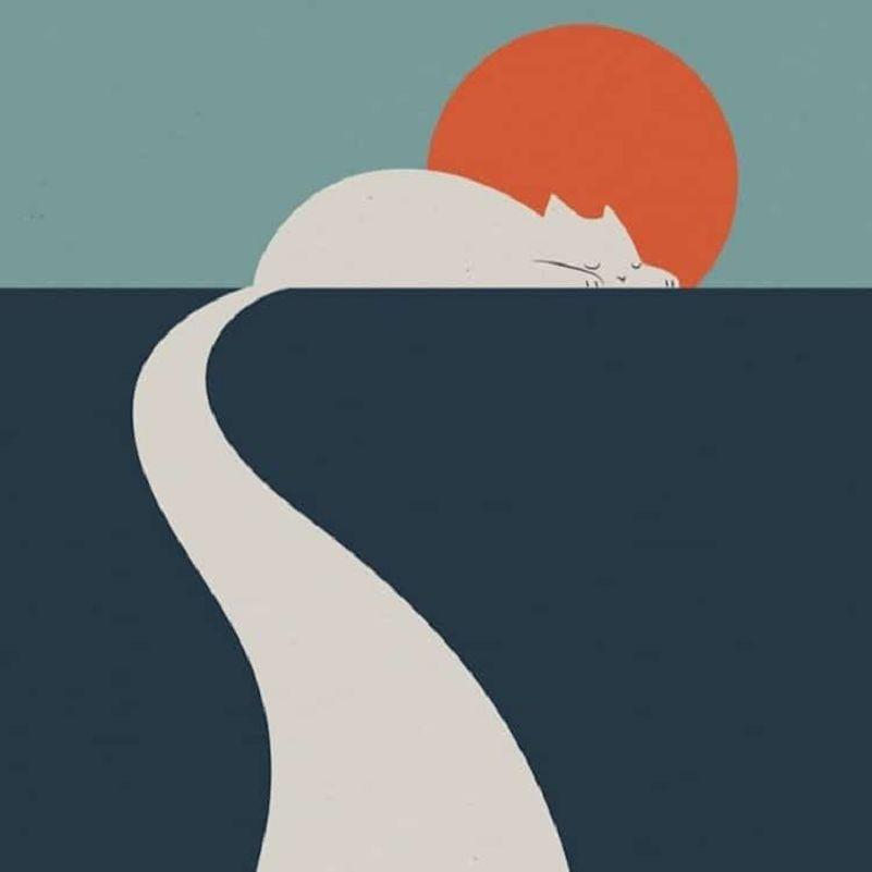 11-Les-Chats-dans-les-Paysages-minimalistes-de-Lim-Heng-Swee