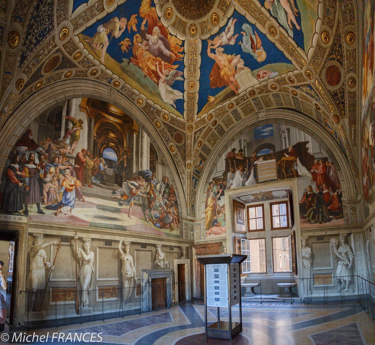 Chambre de Raphael - Musée du vatican Photo©Michel Frances
