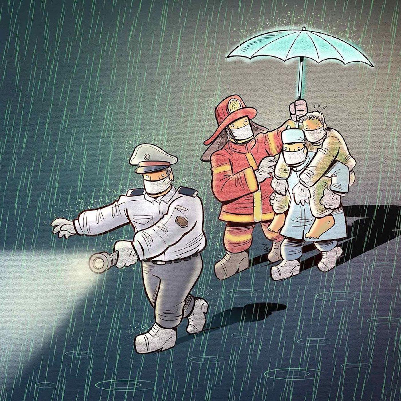 illustrations-hommage-personnel-soignant-alireza-pakdel-9