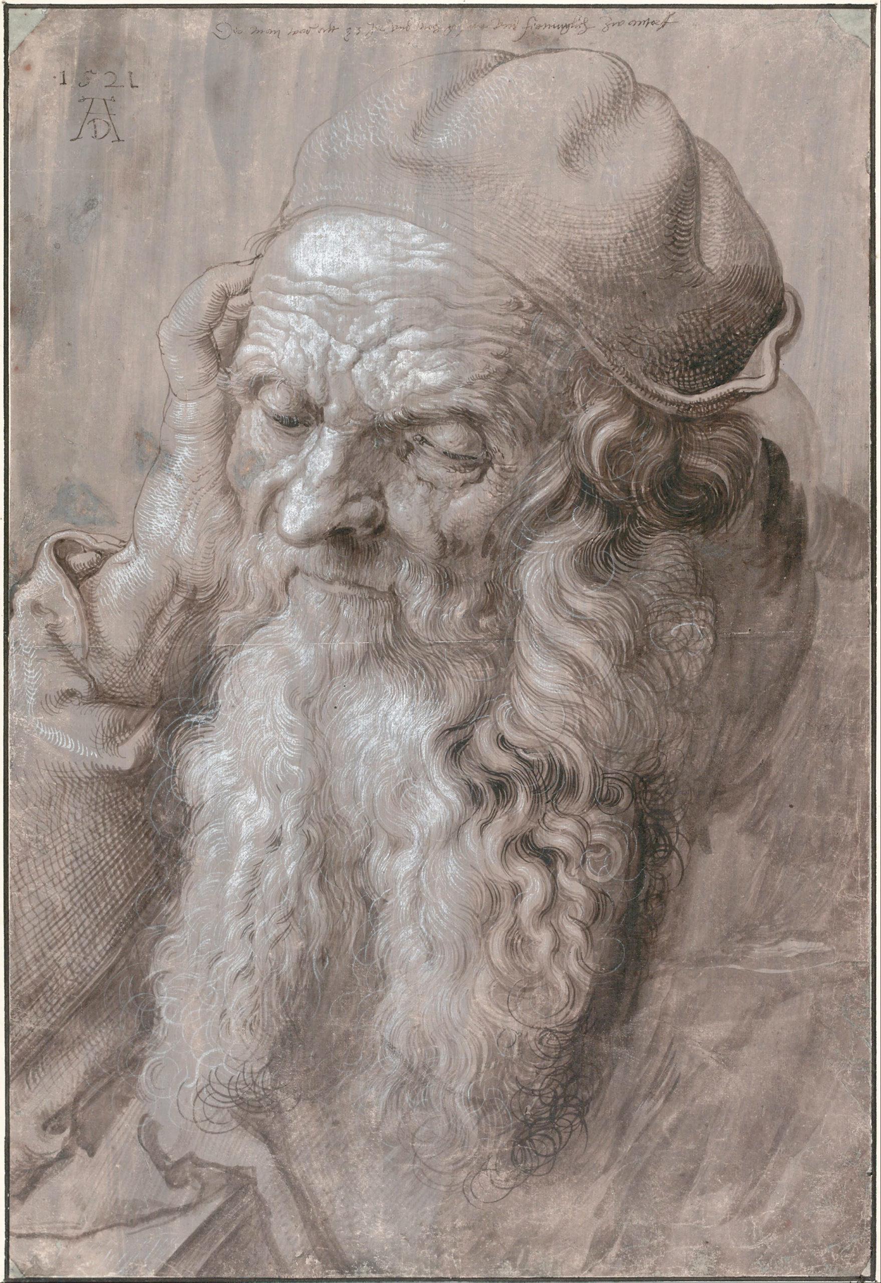 Portrait d'un vieil homme de Dürer - Photo Wikimédia