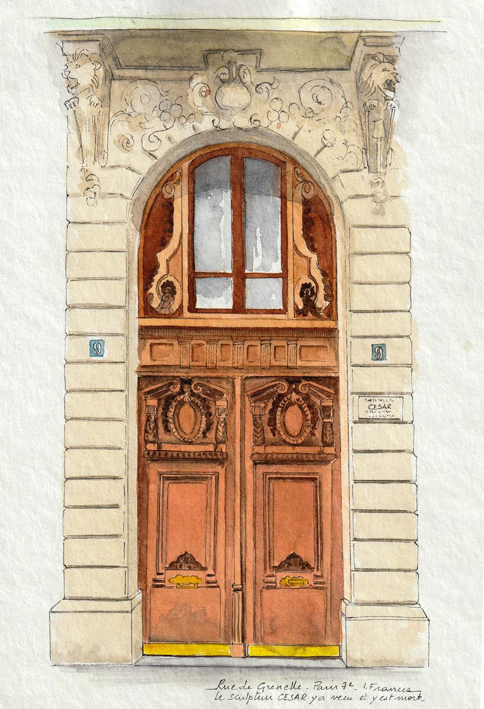 Maison où le Sculpteur César a vécu - ©I.Frances