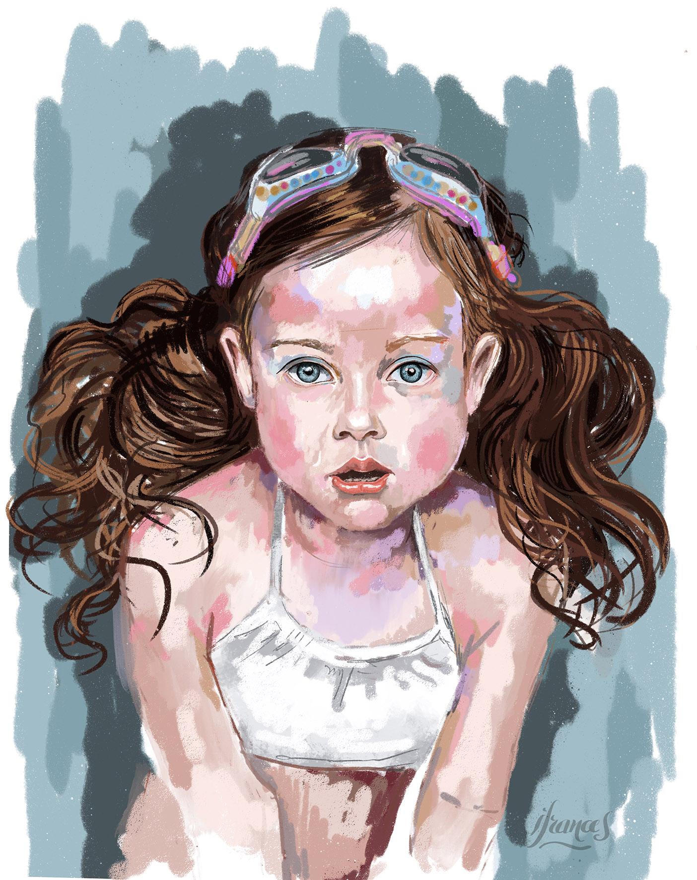 Peinture numérique -I.Frances 2021