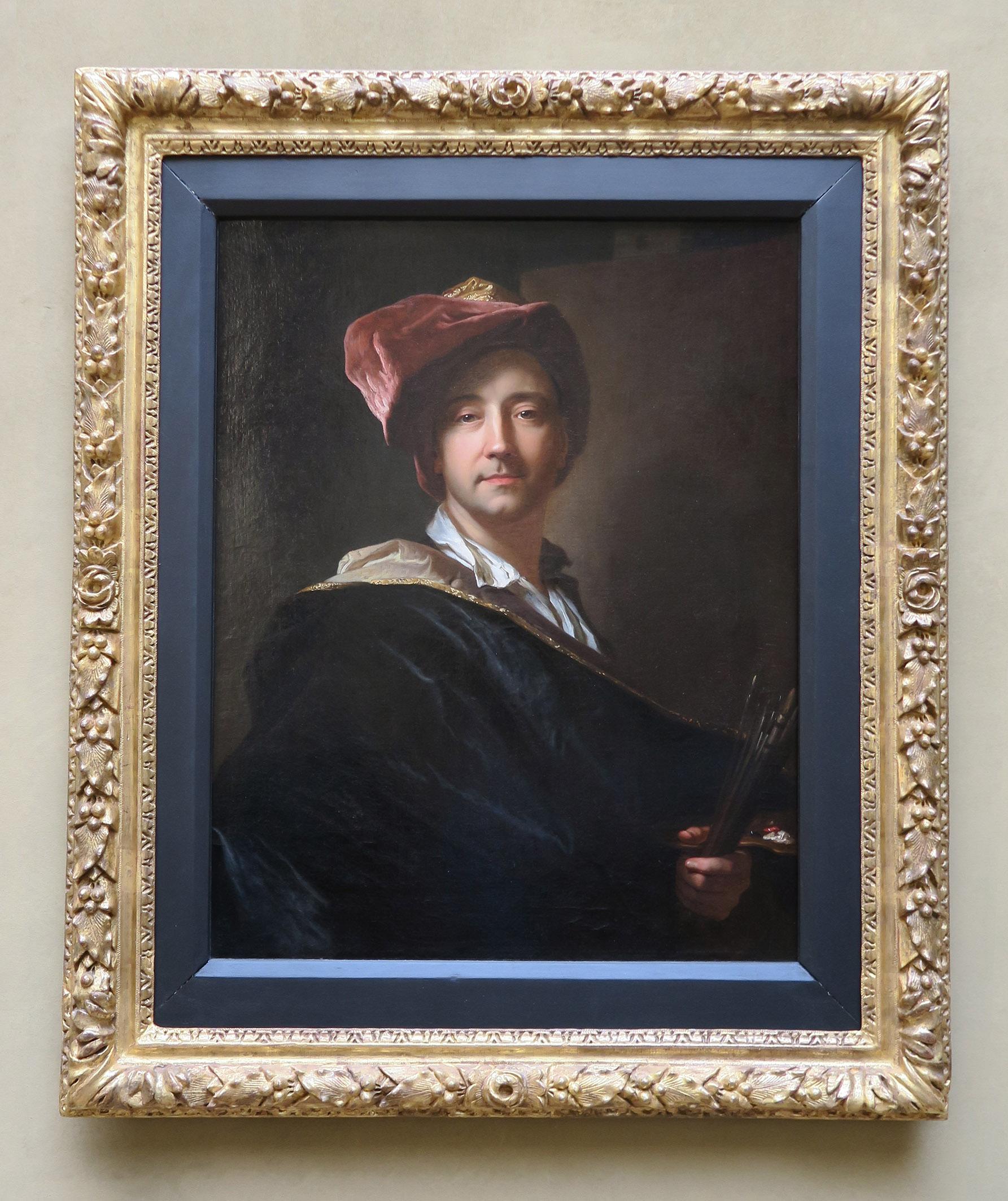 Autoportrait  au turbande Hyacinthe Rigaud