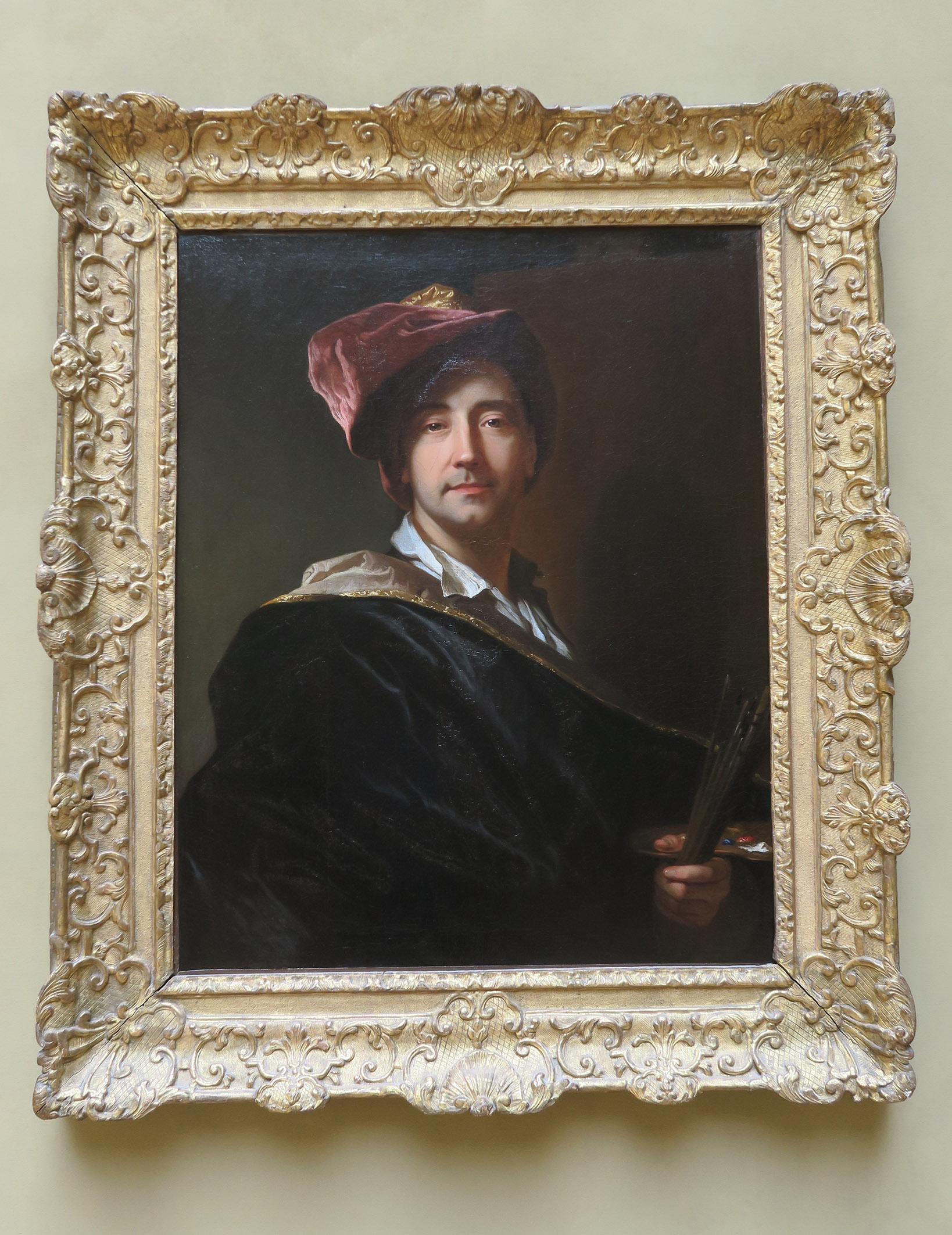 Autoportrait de Hyacinthe Rigaud, 1698 Collection particulière