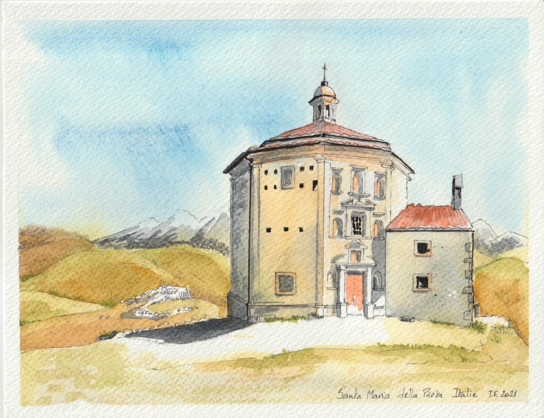 Eglise Santa Maria della Pieta dans les Abruzzes - ©I.Frances 2021