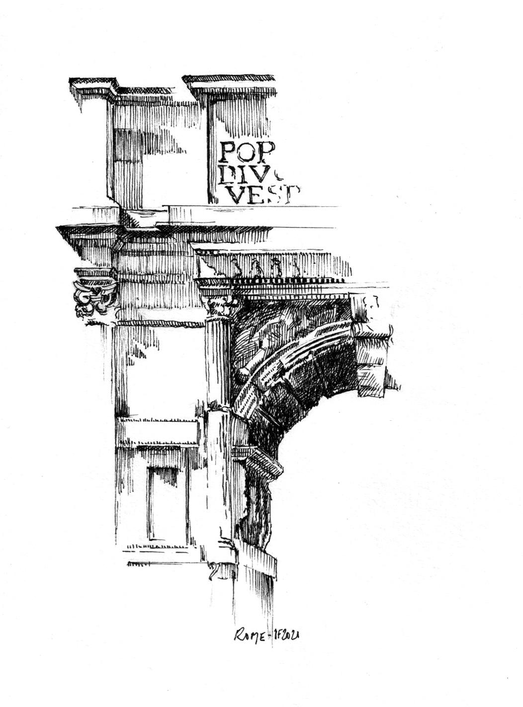 Arc de Titus à Rome - ©I.Frances 2021