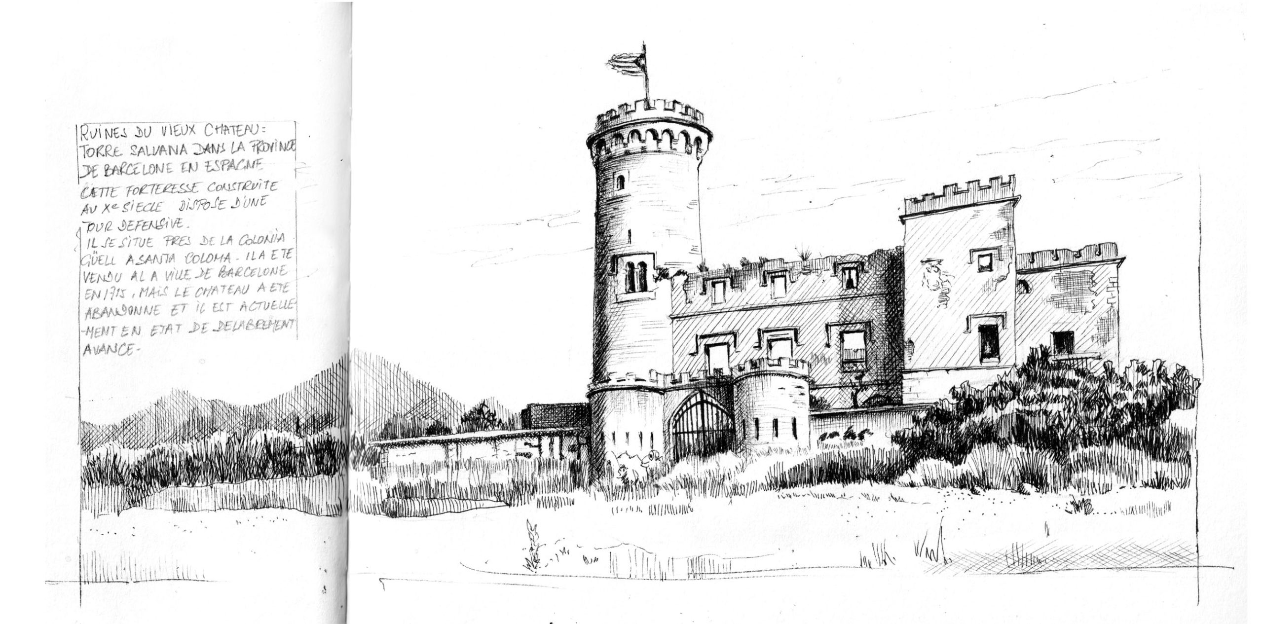 Torre Salvana en Espagne ©I.F 2021