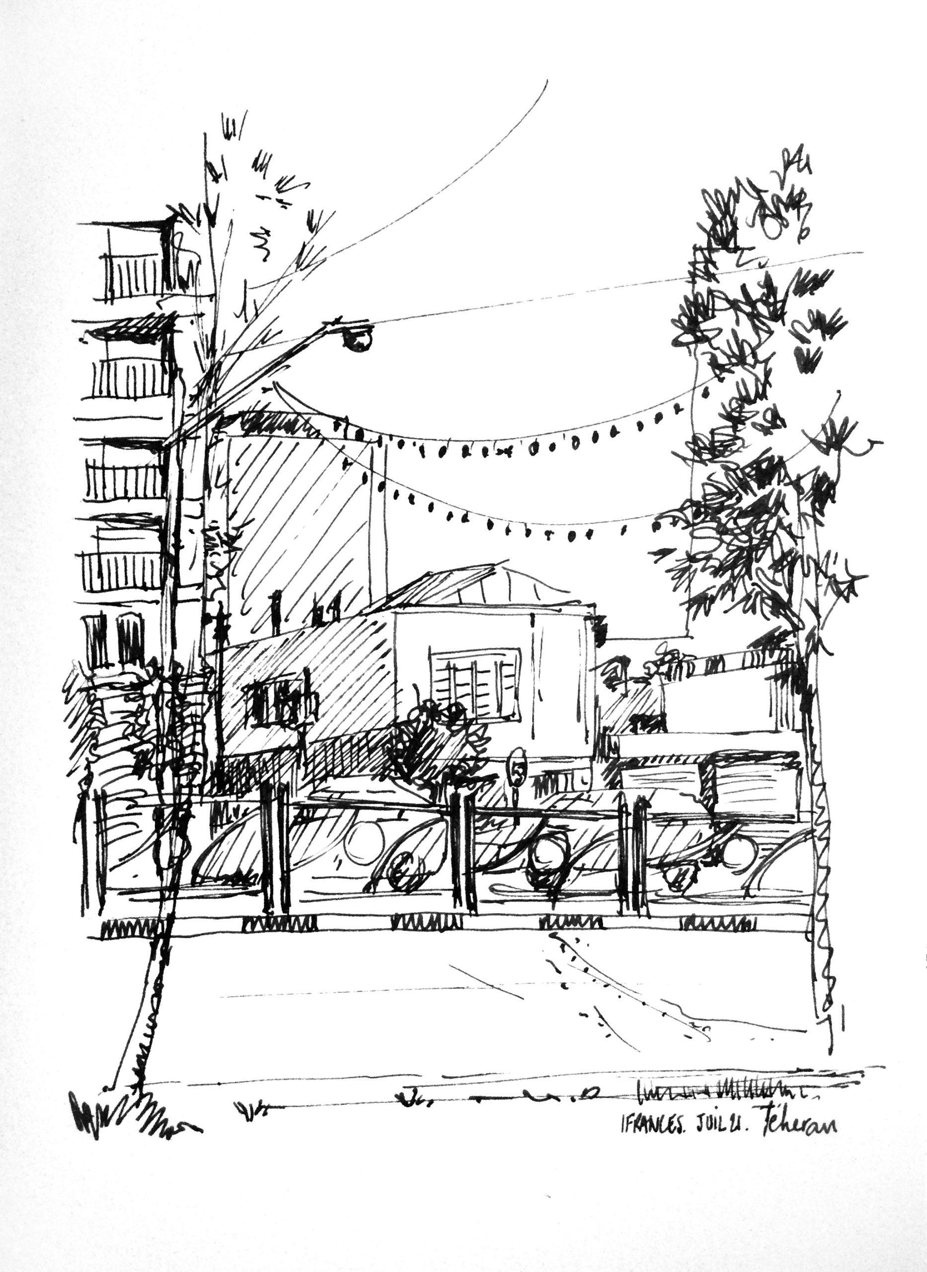 Valiasr Street  à Teheran- ©I.Frances 2021