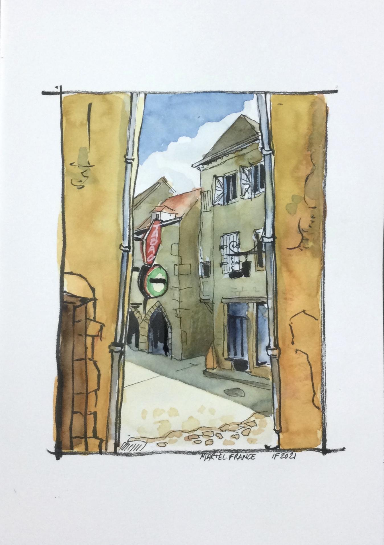 Dans les rues de Martel - ©I.Frances 2021