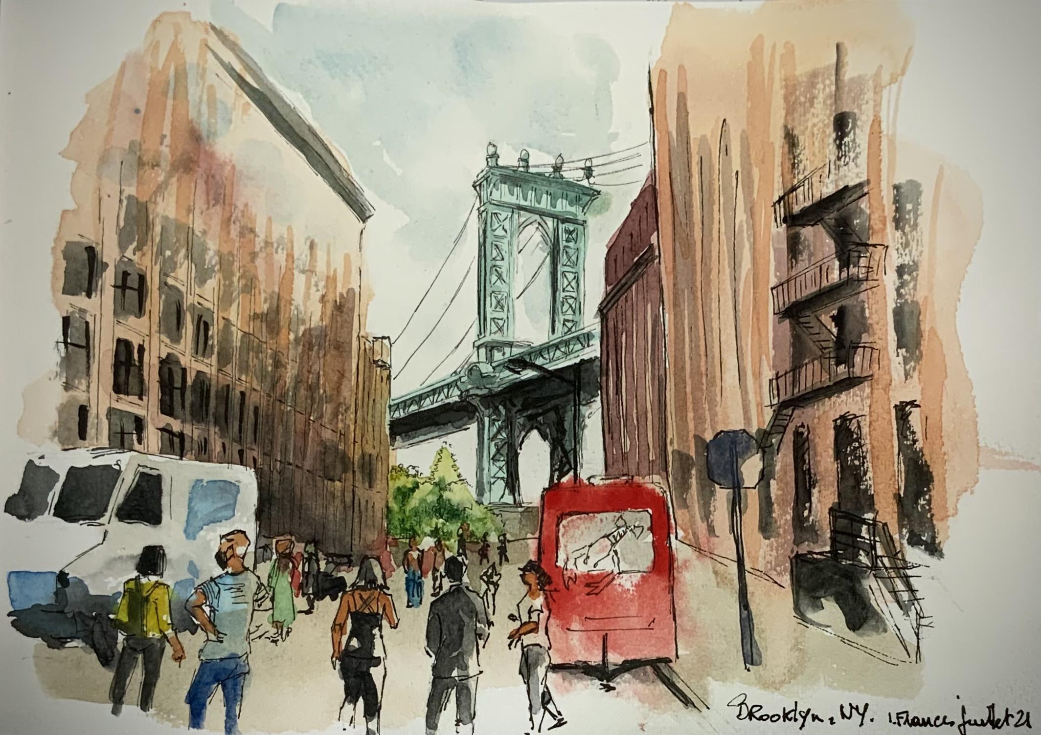 Pont de Brooklyn-NY - ©I.Frances 2021