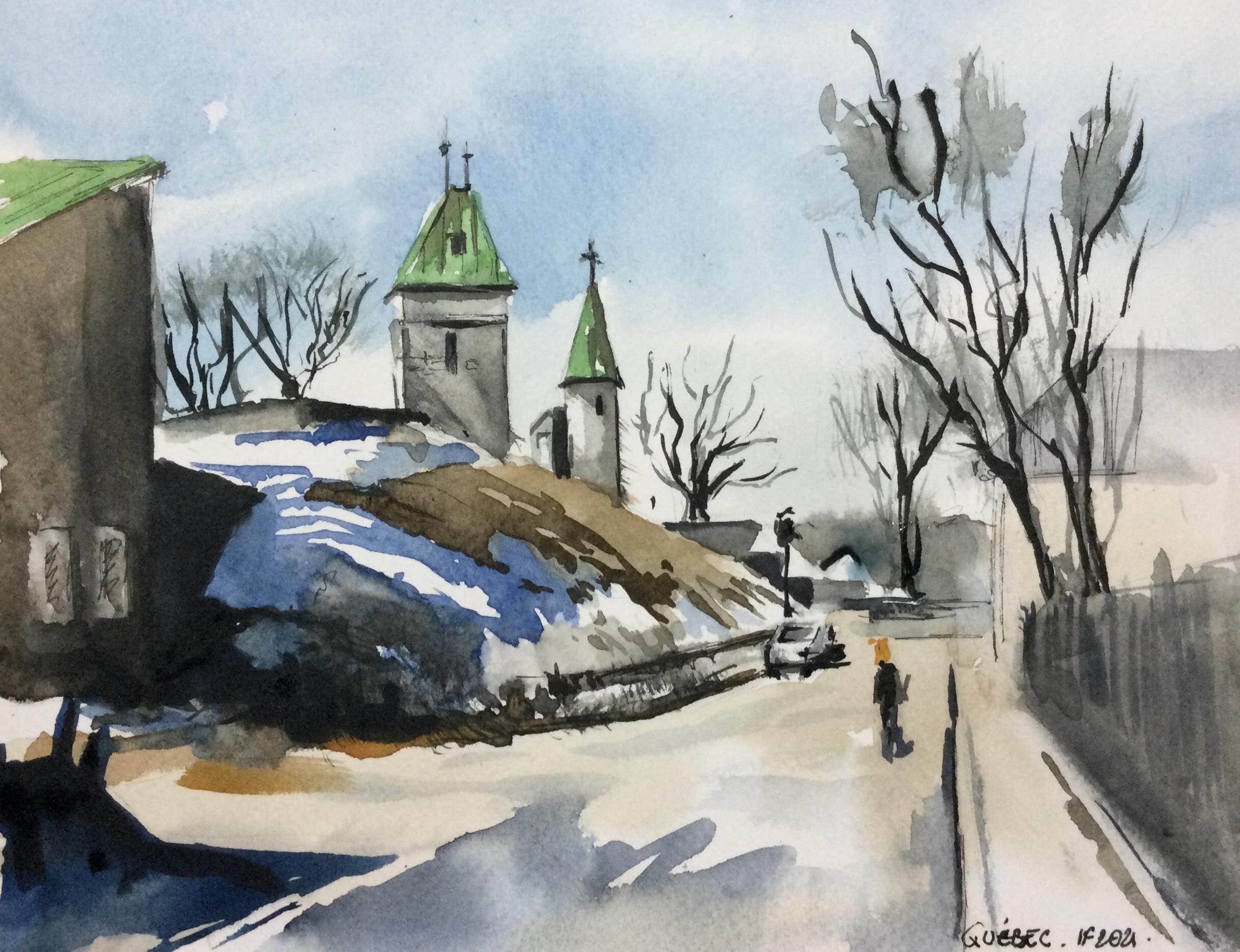 Québec à la fin de l'hiver - ©I.Frances 2021